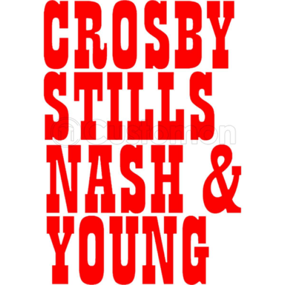 Crosby Stills and Nash Names Baby Bib - Customon