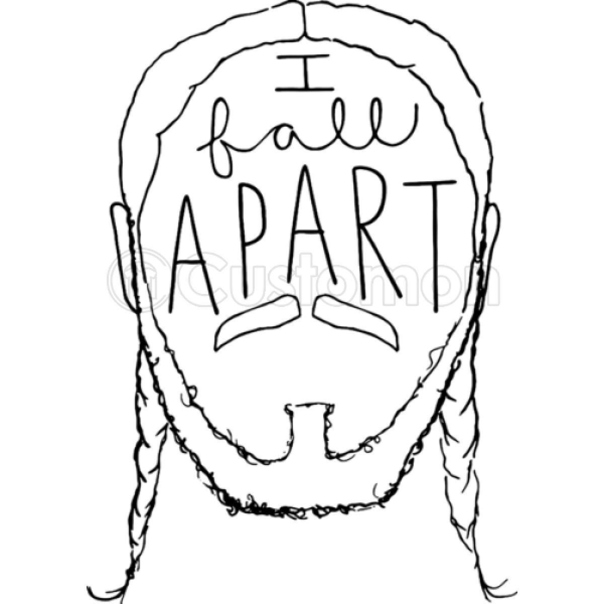 Post Malone I Fall Apart Guitar: Post Malone I Fall Apart IPhone 6/6S Case
