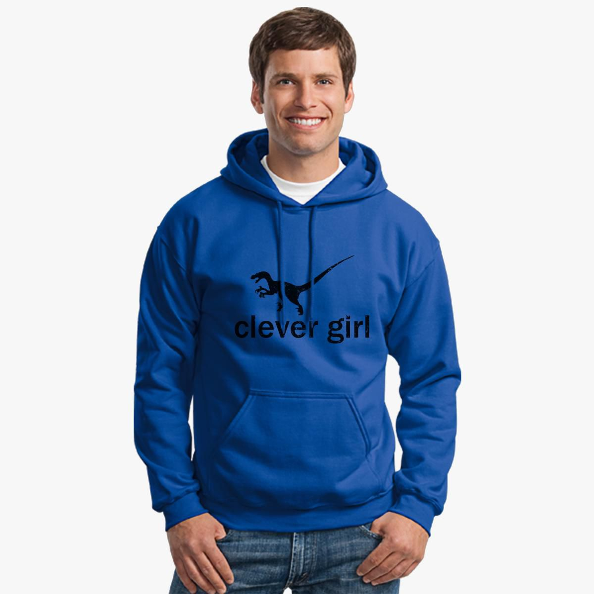 Clever Girl Blue: Clever Girl 2 Unisex Hoodie