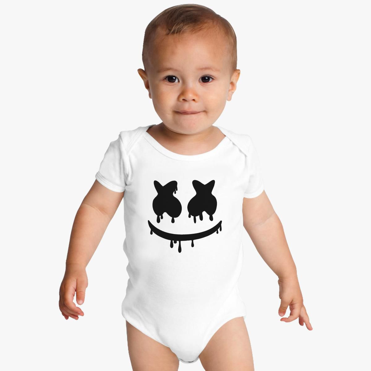 de03a3835 Marshmello Baby Onesies - Customon