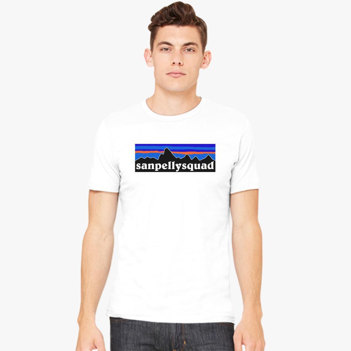 SANPELLYSQUAD FULL LOGO Men's T-shirt