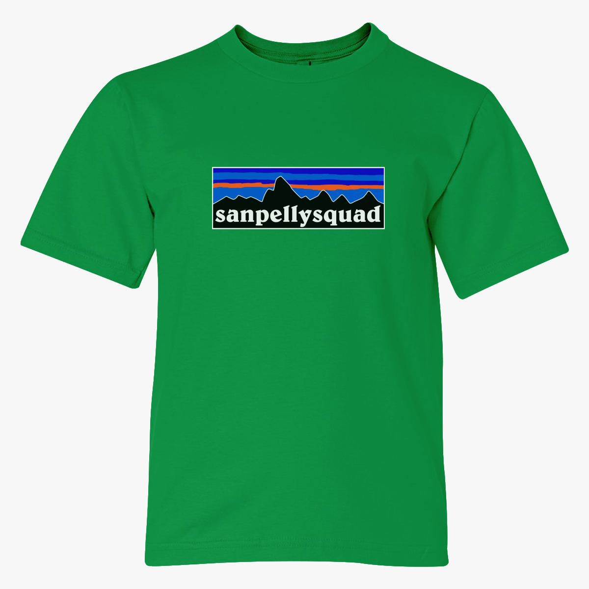 SANPELLYSQUAD FULL LOGO Youth T-shirt