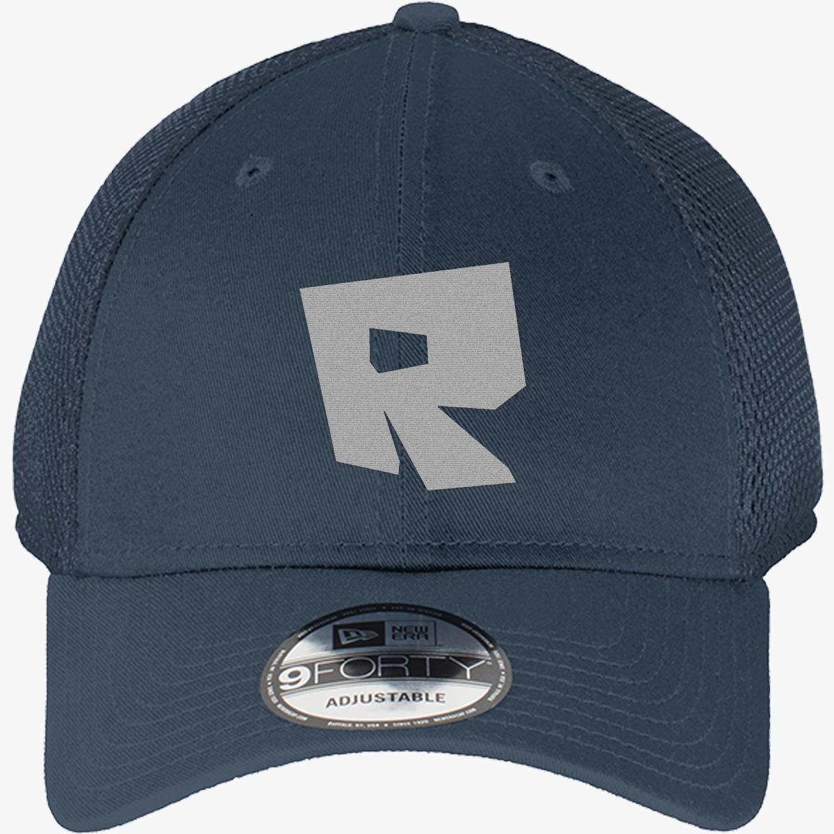 8a289321c915 Roblox Logo New Era Baseball Mesh Cap (Embroidered) - Customon
