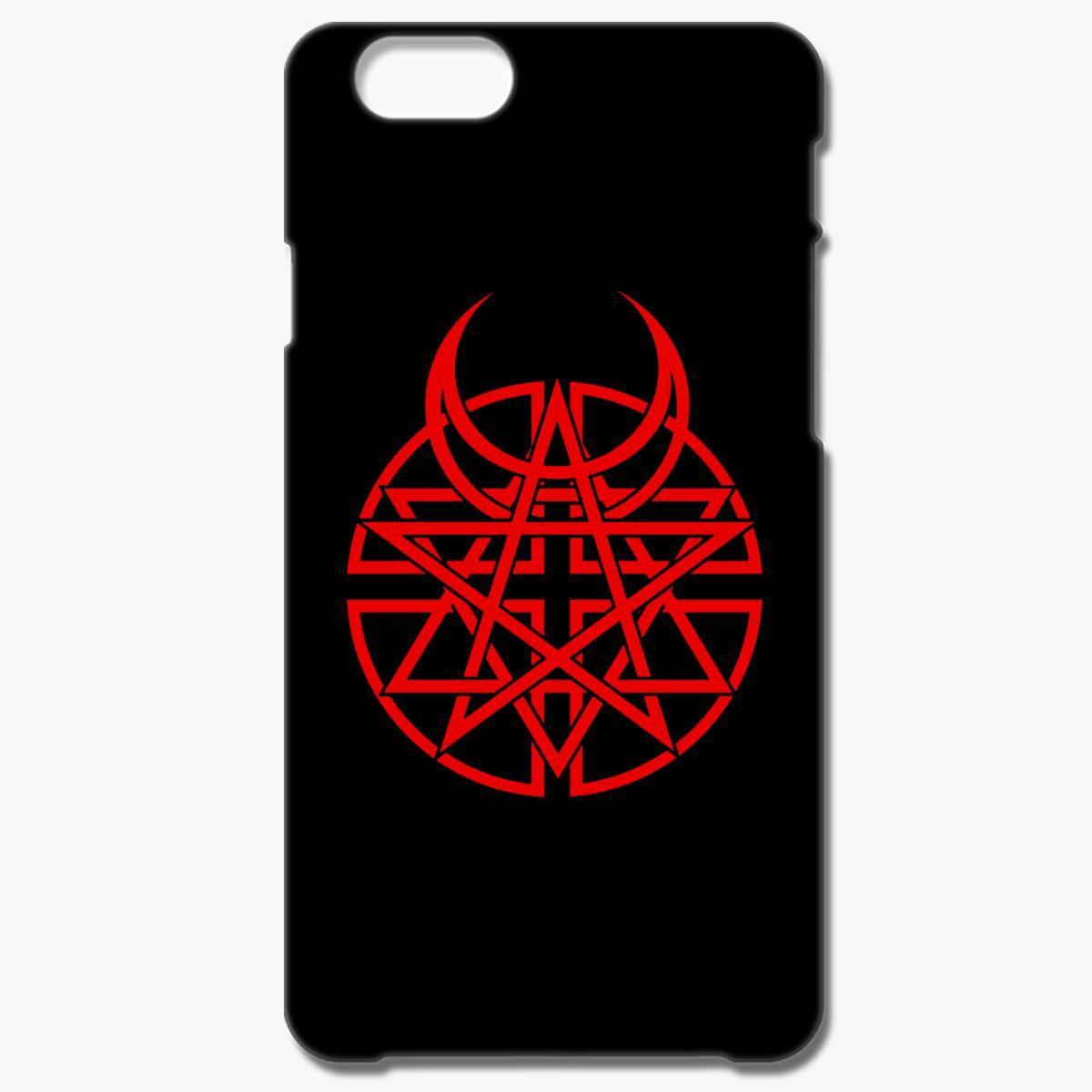 Disturbed band logo iphone 6 6s plus case
