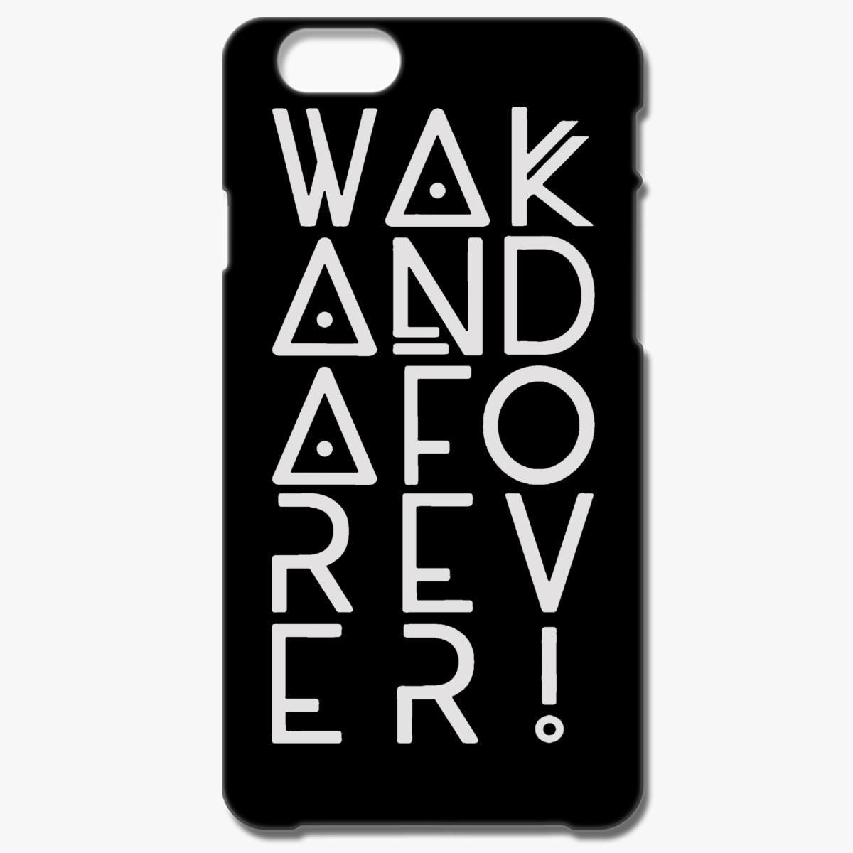 the best attitude 00f1b 5898a wakanda forever iPhone 6/6S Case - Customon