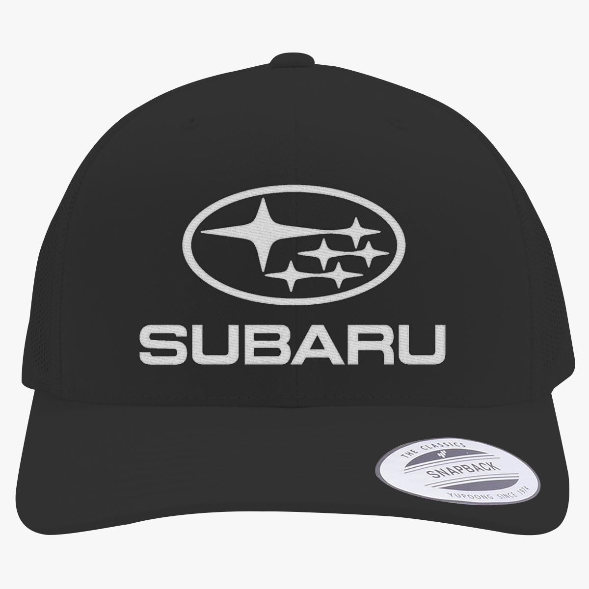 a5147fbd Subaru sti logo Retro Trucker Hat (Embroidered) - Customon