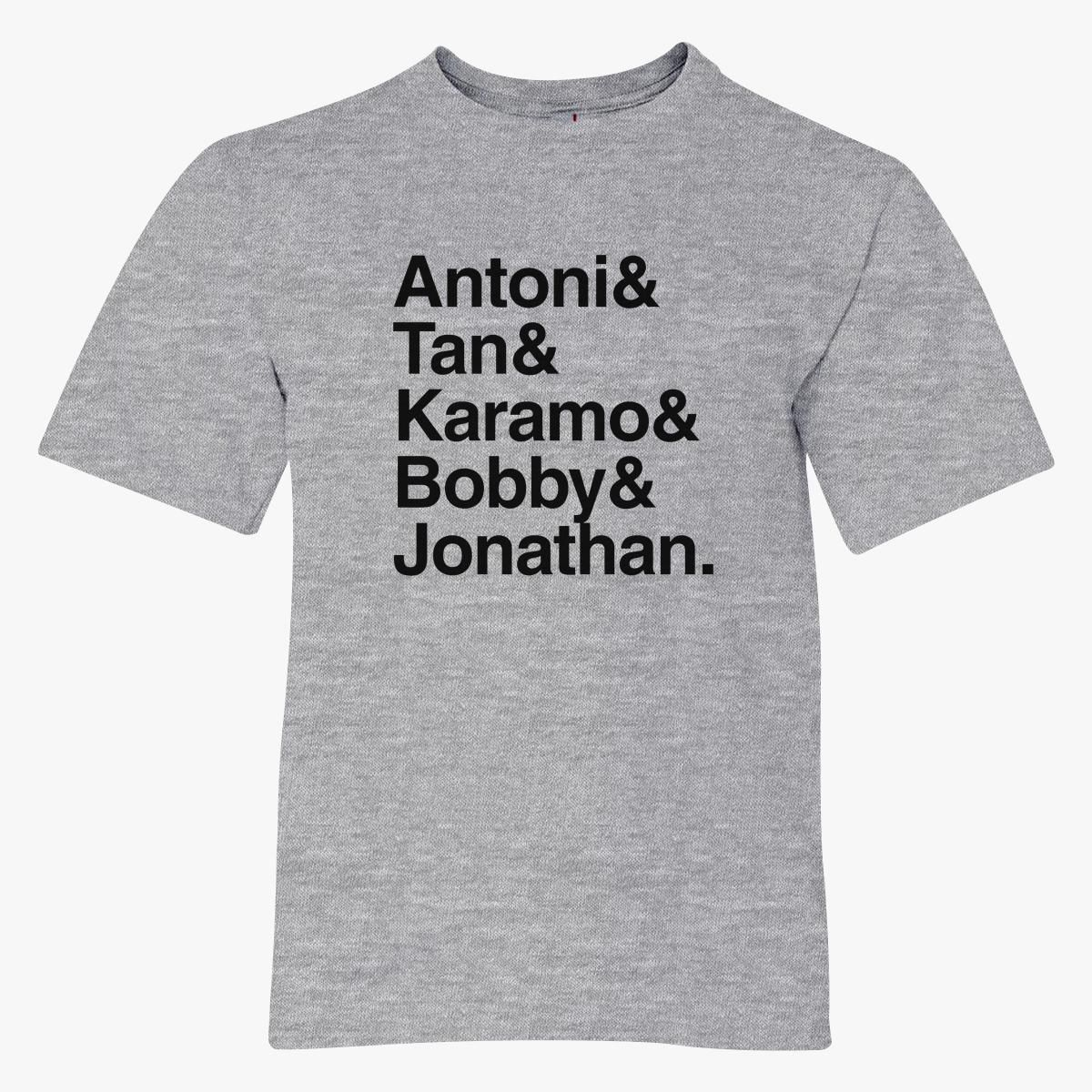 Queer Eye Cast V3 Youth T-shirt