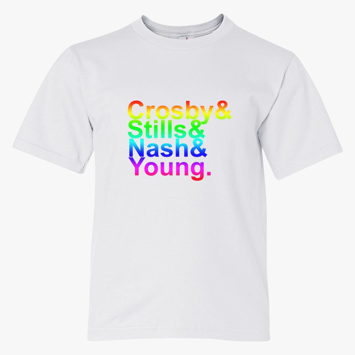Crosby Stills and Nash Names Youth T-shirt - Customon