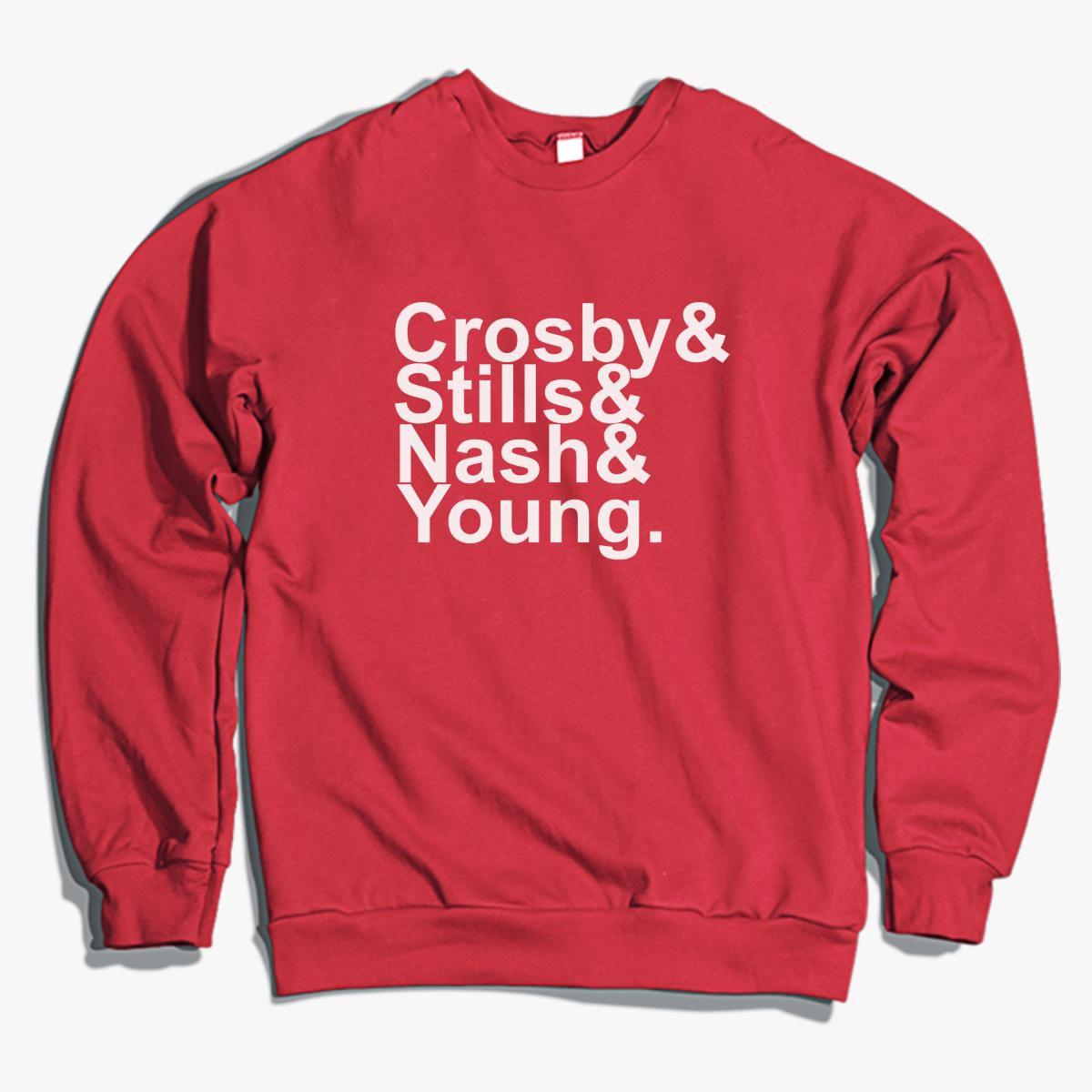 Crosby Stills and Nash Names Crewneck Sweatshirt - Customon