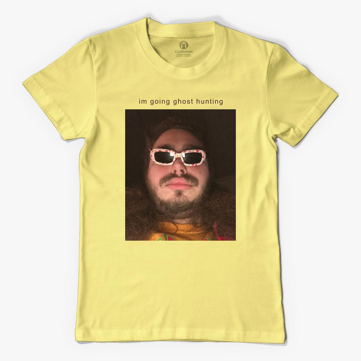 Post Malone Going Ghost Hunting Men's T-shirt