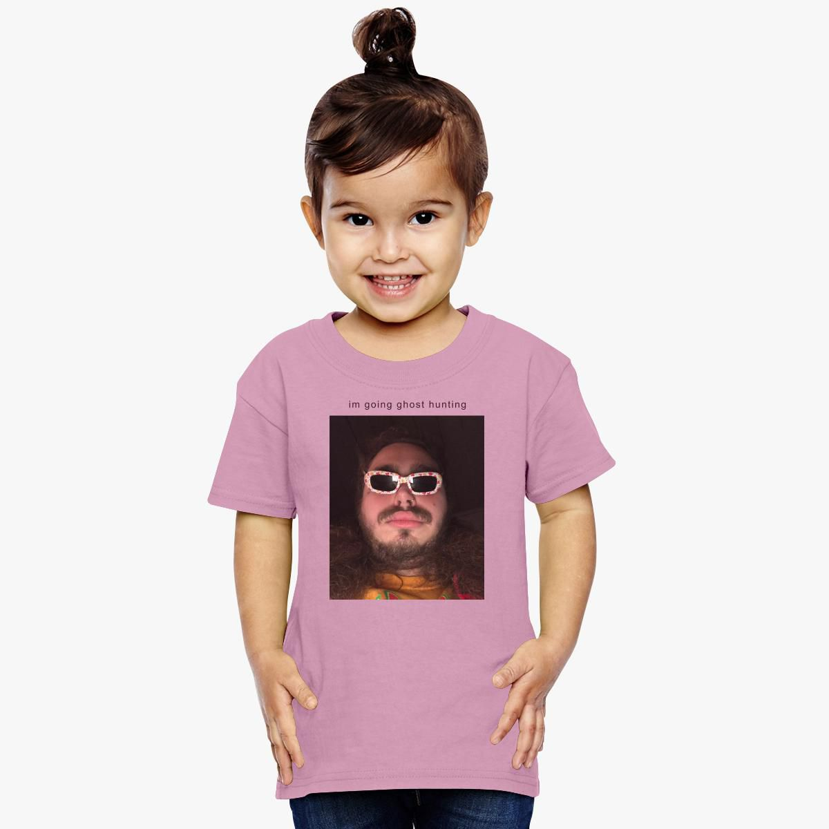 Post Malone Going Ghost Hunting Toddler T-shirt
