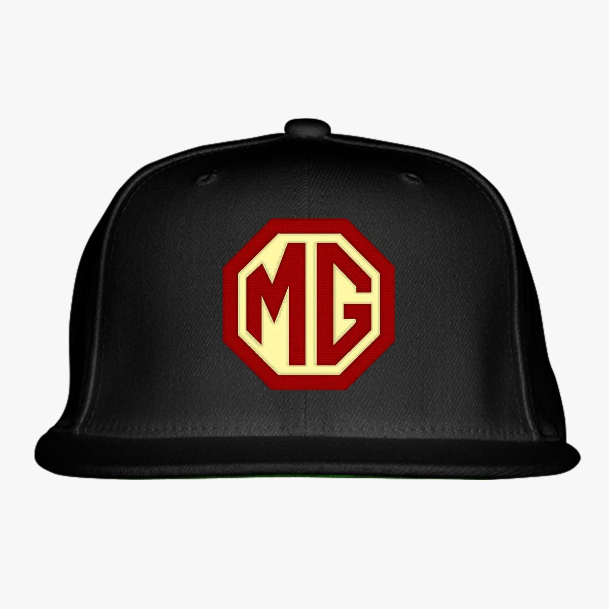 b4e24e4e37699 Mg Morris Garages Snapback Hat (Embroidered) - Customon
