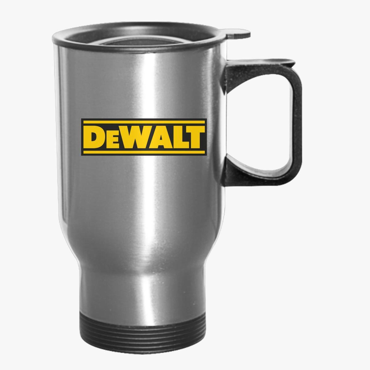 c1fec9a94d8 DeWALT Logo Travel Mug - Customon