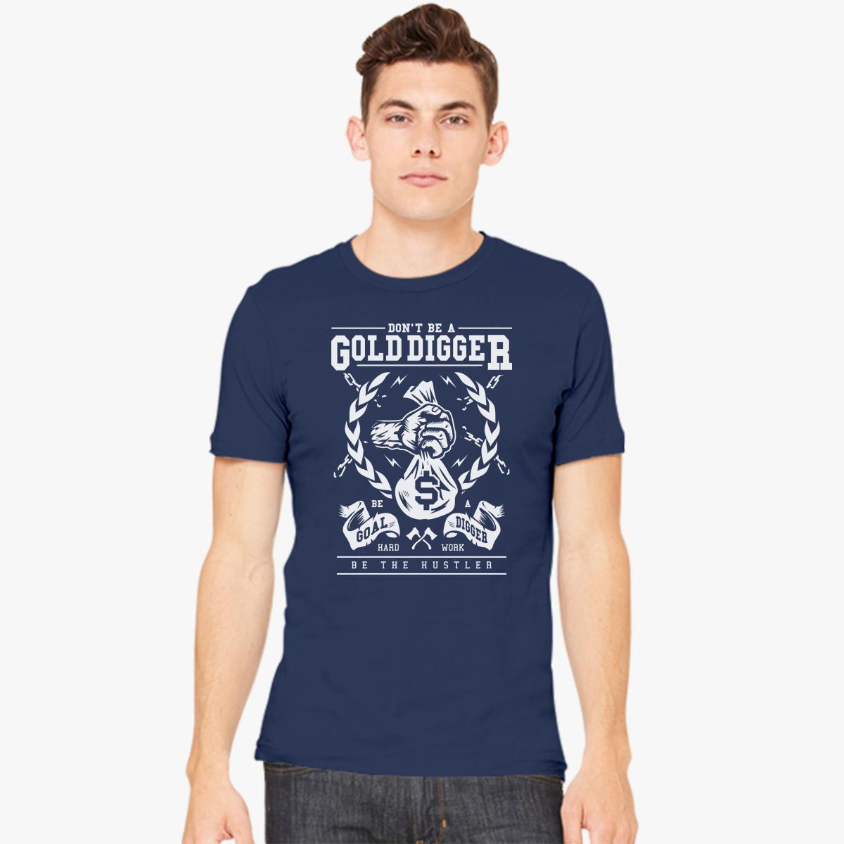 Gold Digger Mens T-shirt - Customon