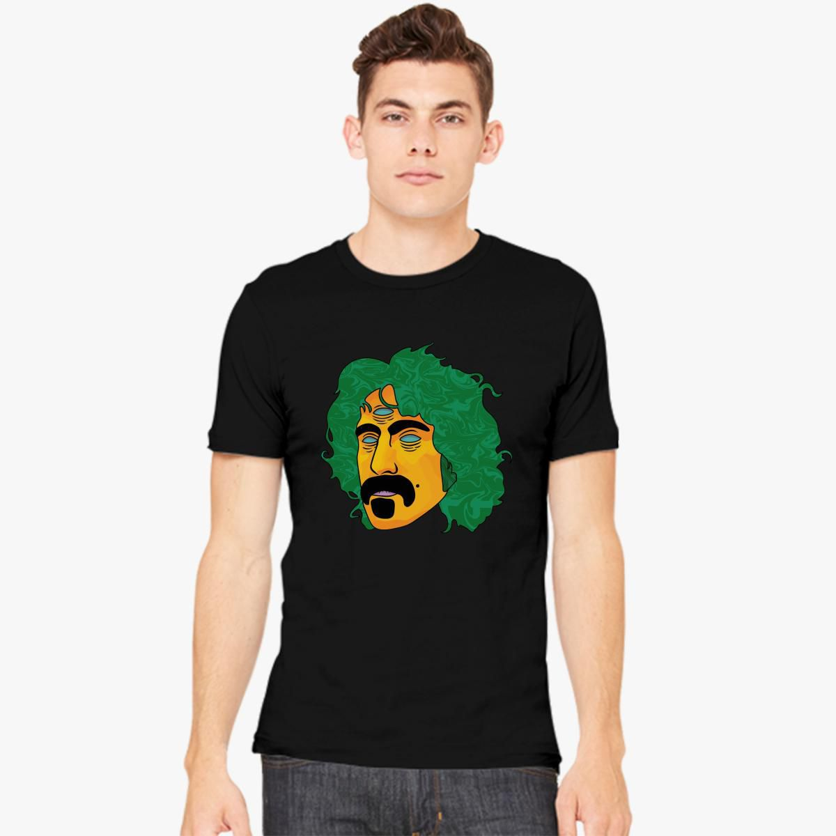 EVE JOHN Frank Zappa Picture Tee Printed Comfortable Black T Shirt for Women
