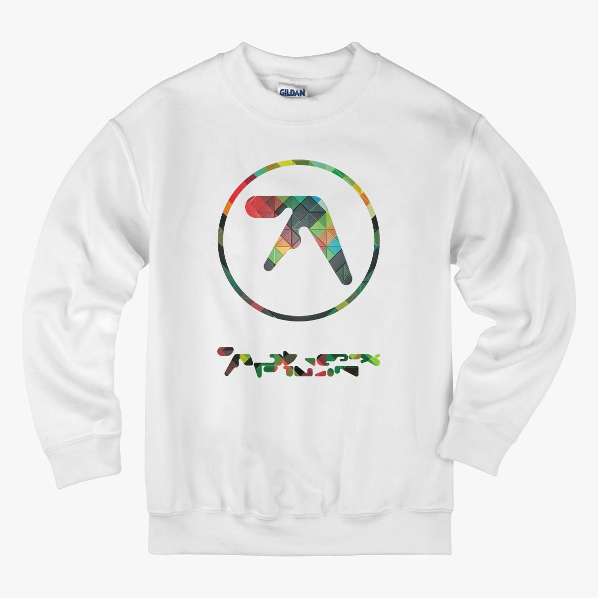 Aphex Twin Logo Kids Sweatshirt