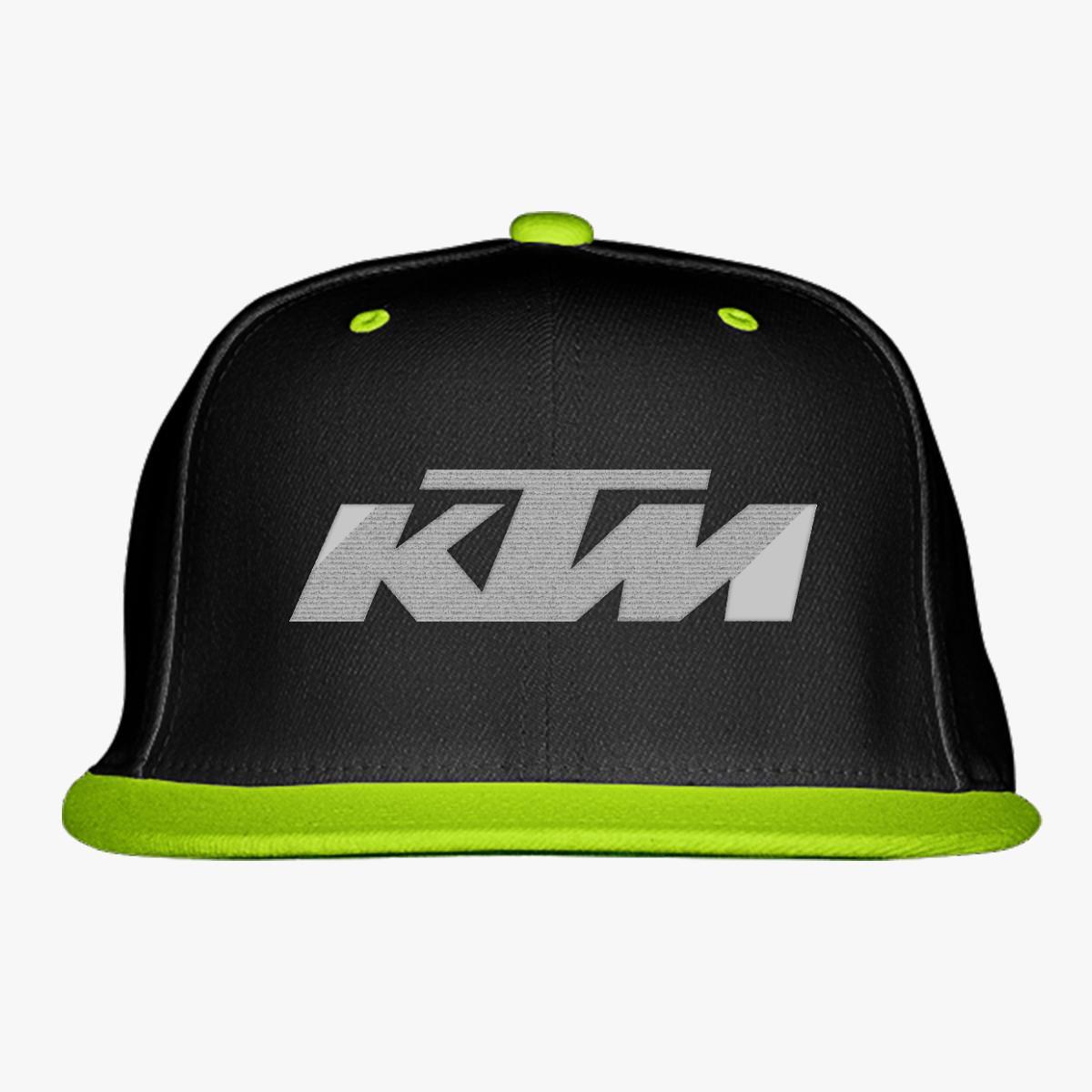 ed443efff3a048 Ktm Snapback Hat (Embroidered) - Customon