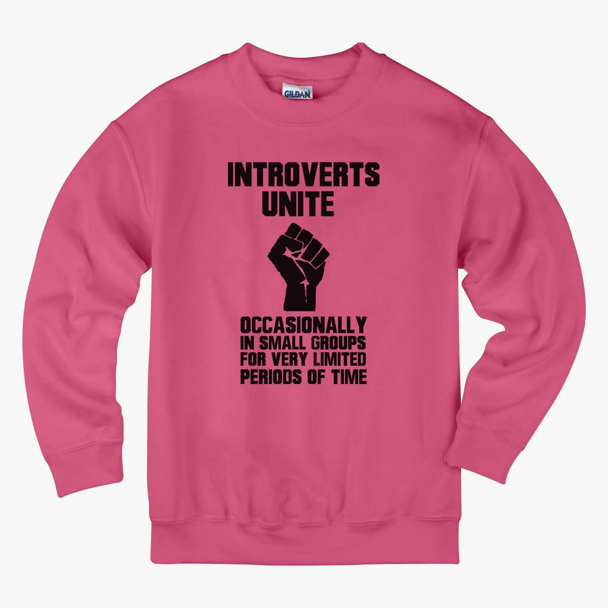 Introverts unite occasionally in small groups for very ...