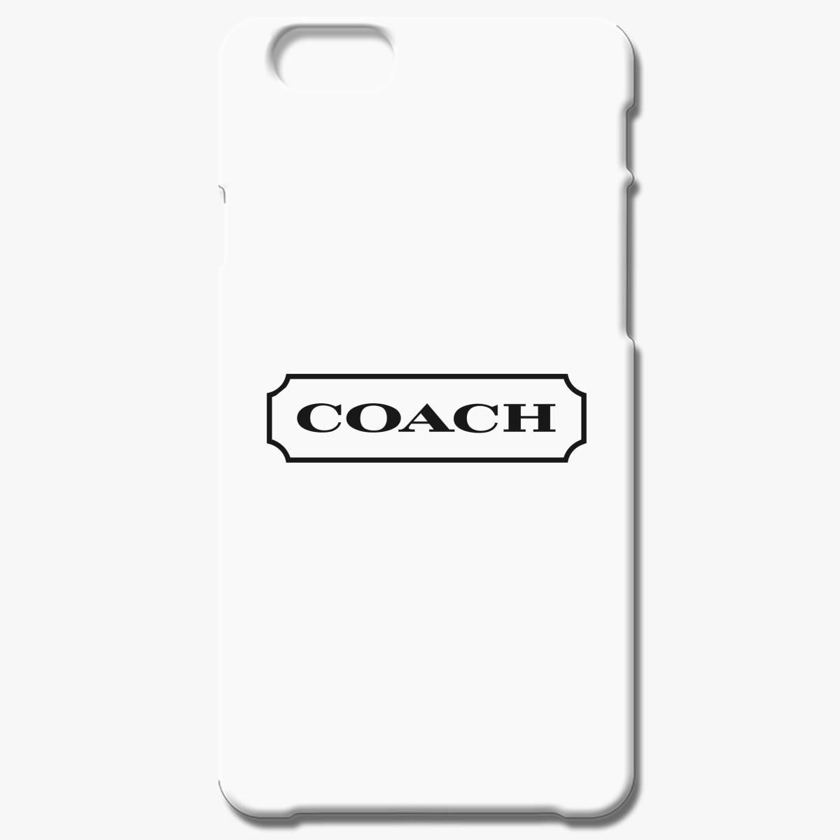 lower price with 91521 9c2d8 Coach Logo iPhone 6/6S Plus Case - Customon