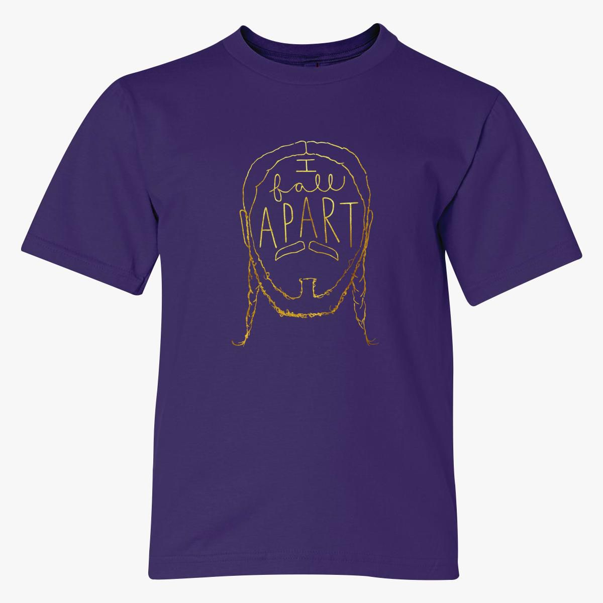 Post Malone I Fall Apart Youth T-shirt