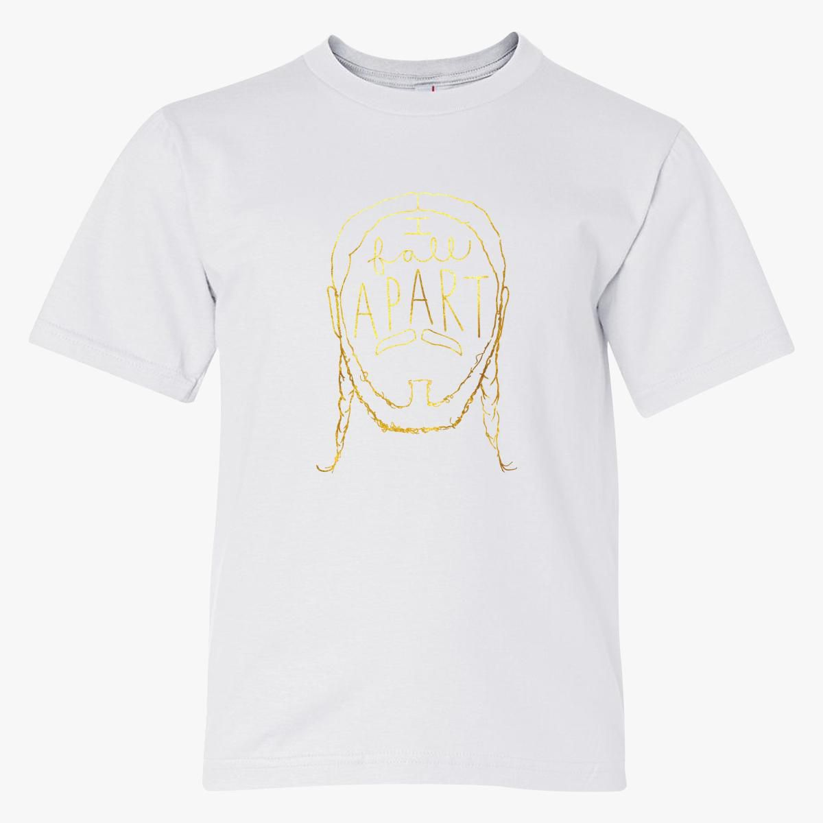 Post Malone I Fall Apart Guitar: Post Malone I Fall Apart Youth T-shirt
