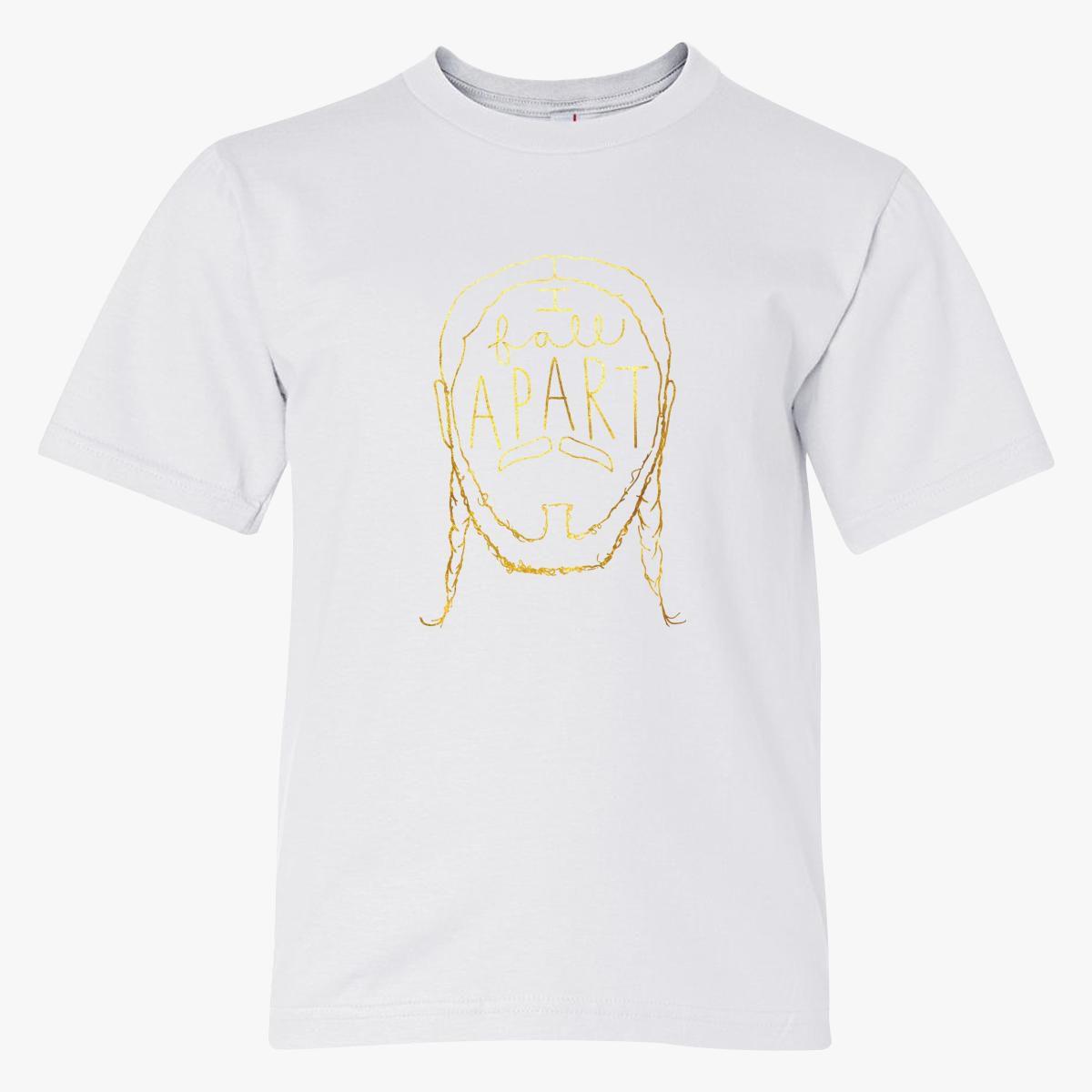 Post Malone I Fall Apart Guitar: Post Malone I Fall Apart Youth T-shirt