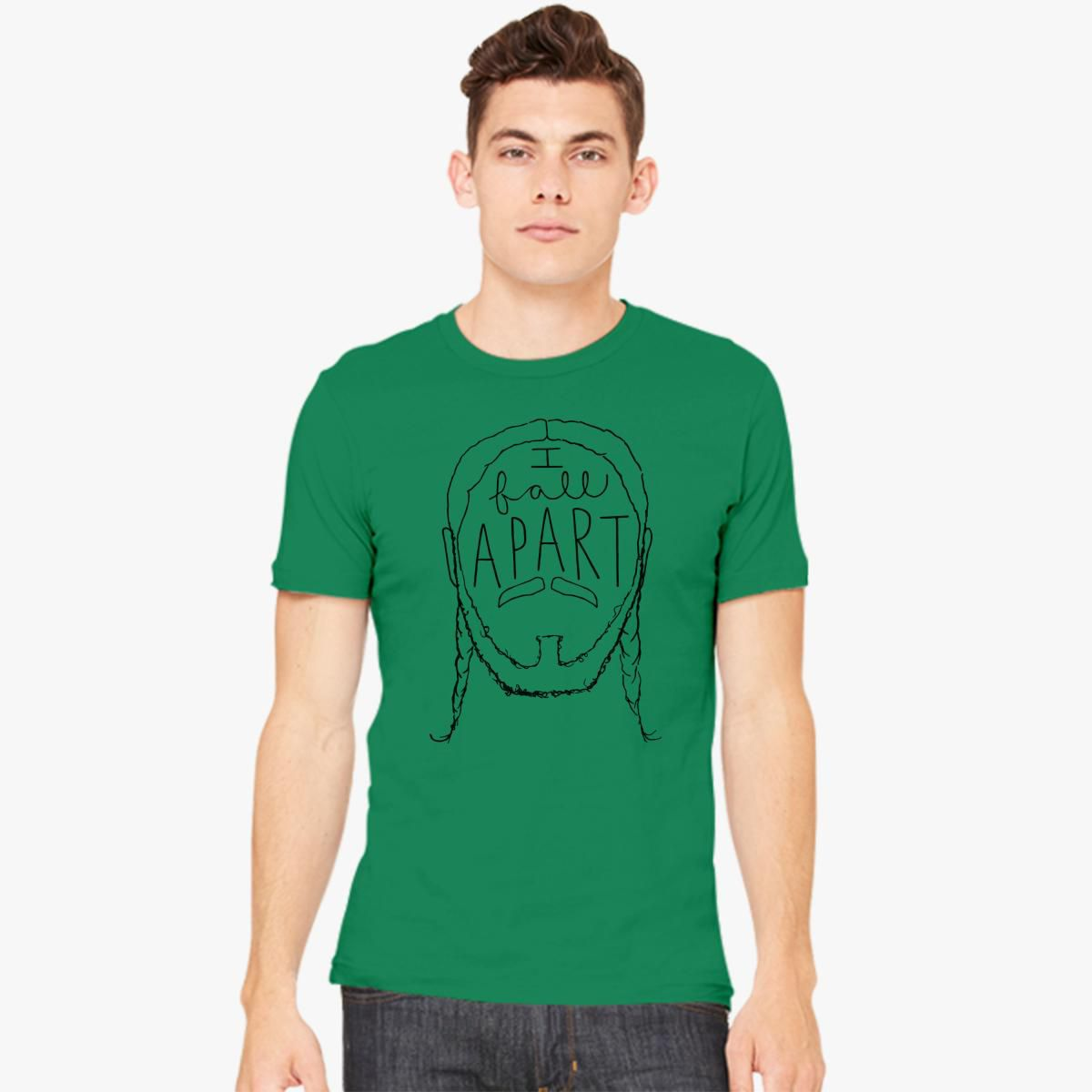 Post Malone I Fall Apart Guitar: Post Malone I Fall Apart Men's T-shirt