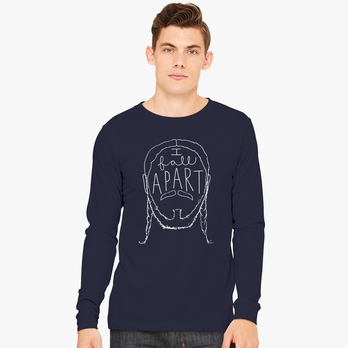 Post Malone I Fall Apart Guitar: Post Malone I Fall Apart Long Sleeve T-shirt