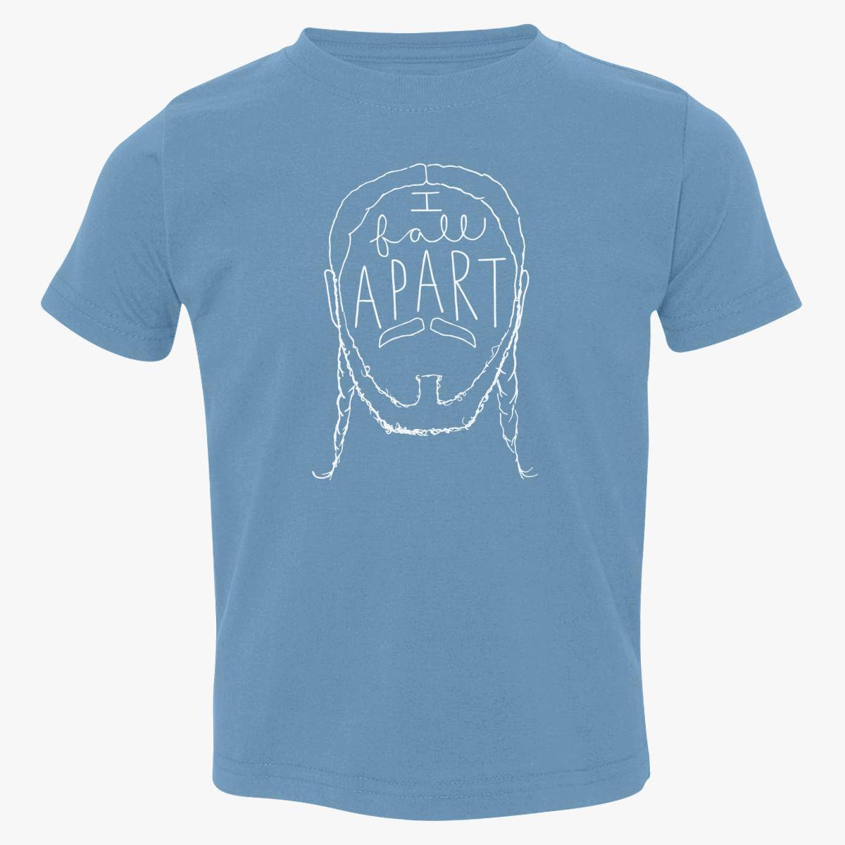 Post Malone I Fall Apart Guitar: Post Malone I Fall Apart Toddler T-shirt