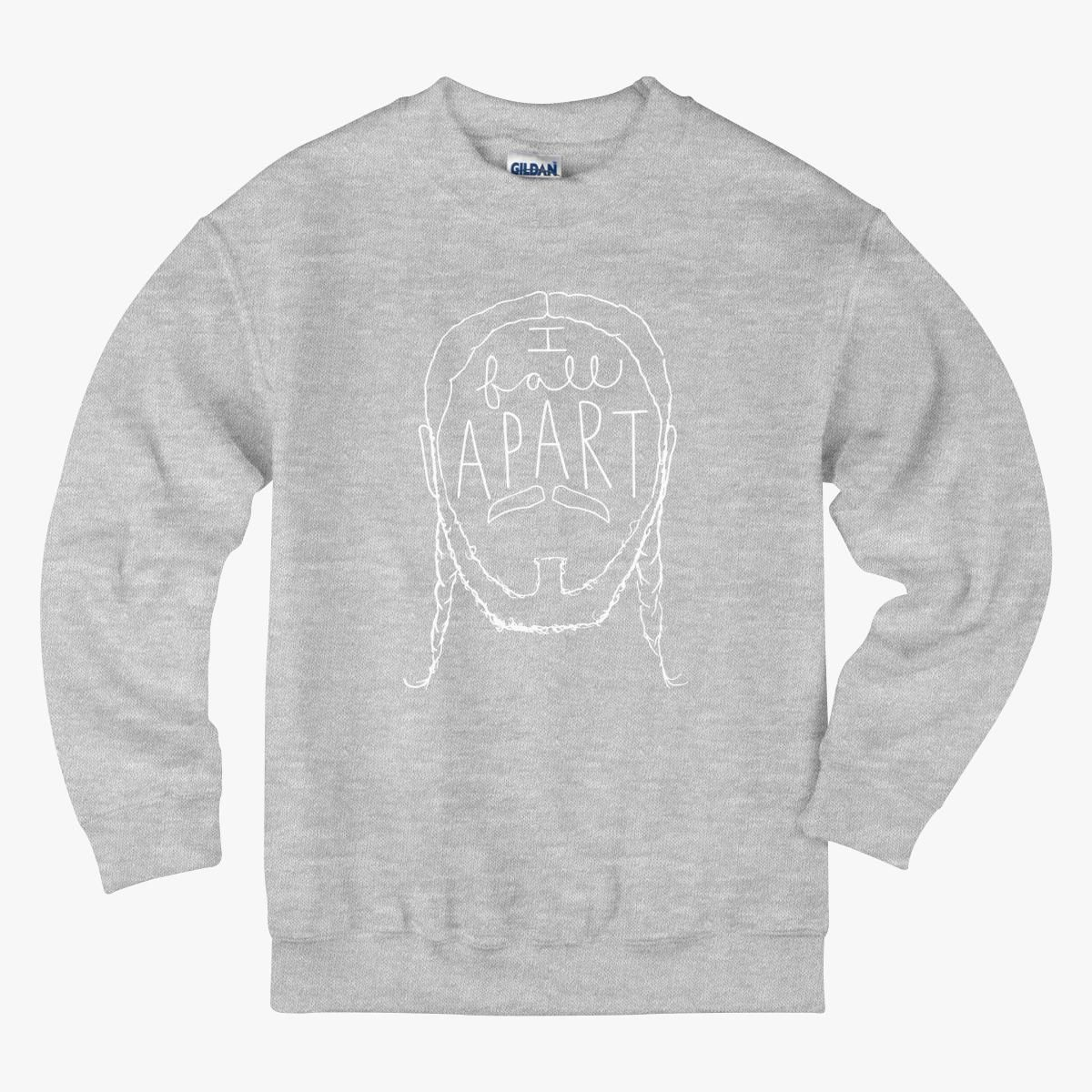 Post Malone I Fall Apart Guitar: Post Malone I Fall Apart Kids Sweatshirt