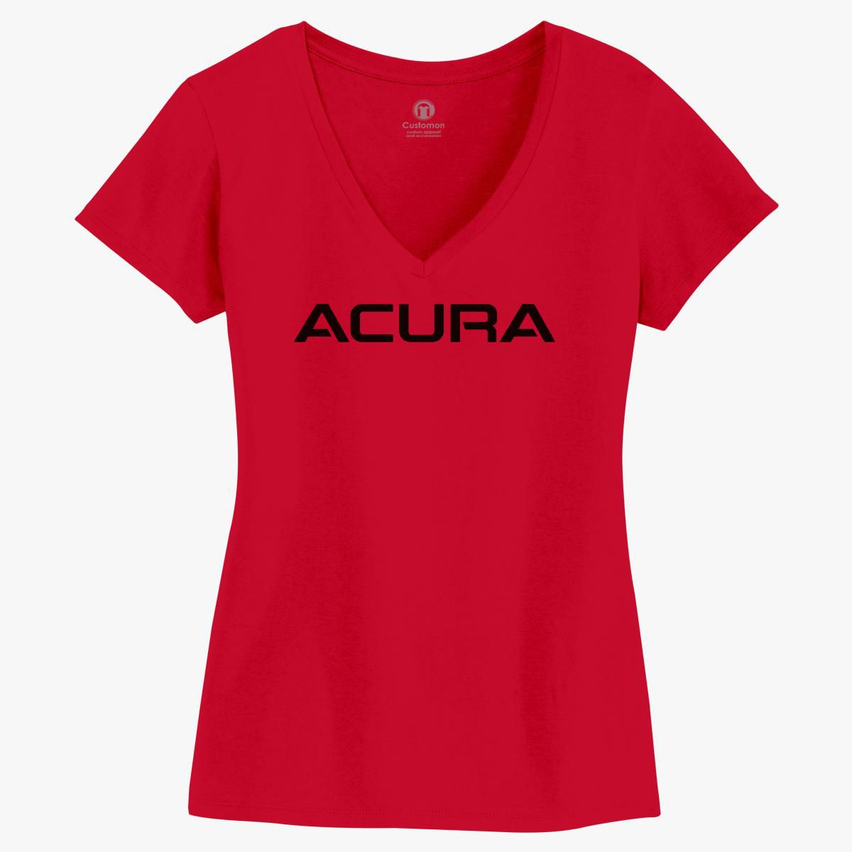 Acura Logo Women's V-Neck T-shirt