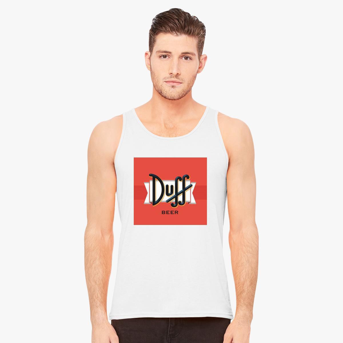 f3fb0f7a416ef Duff Beer Logo Men s Tank Top - Customon