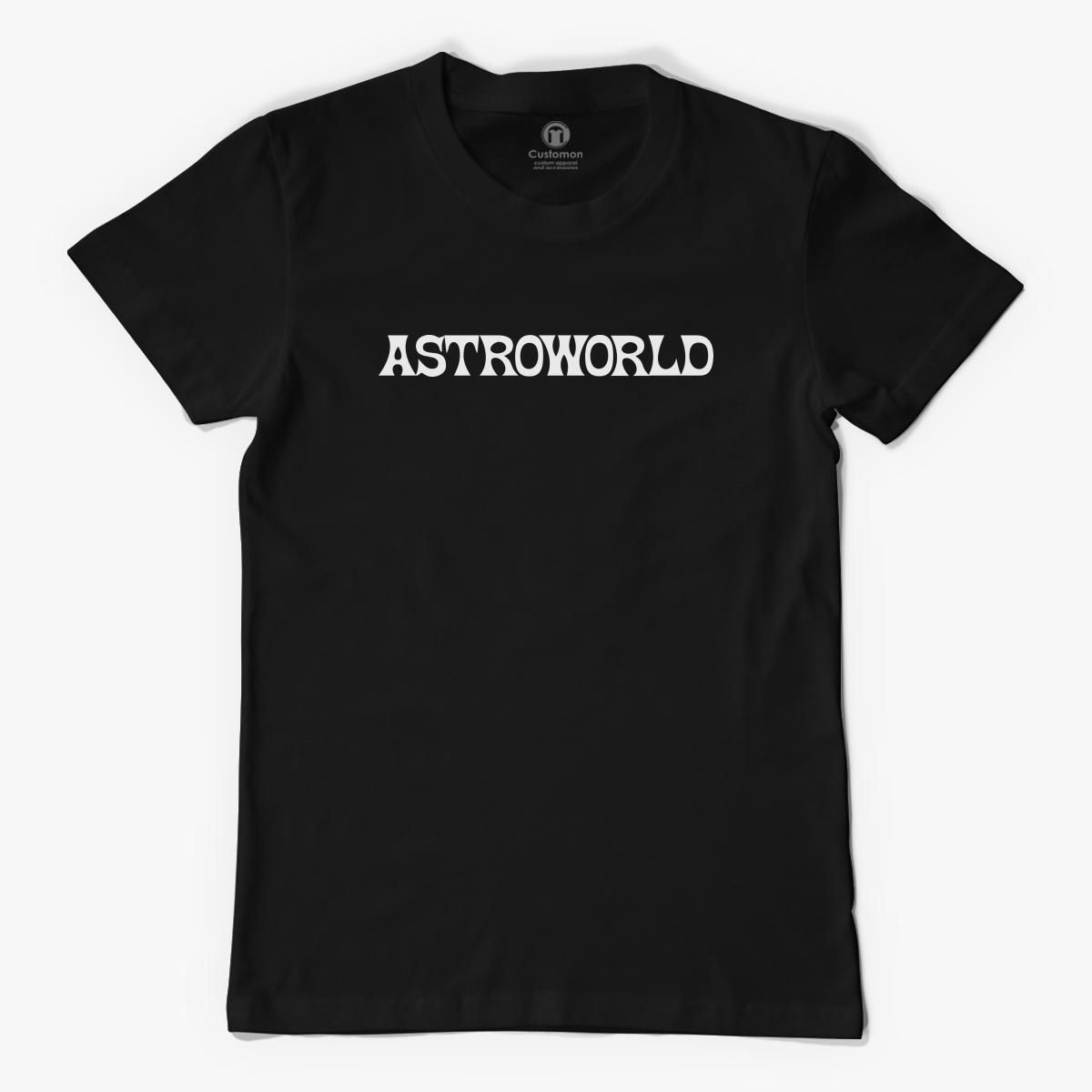 cfbefda5 AstroWorld Logo Men's T-shirt - Customon