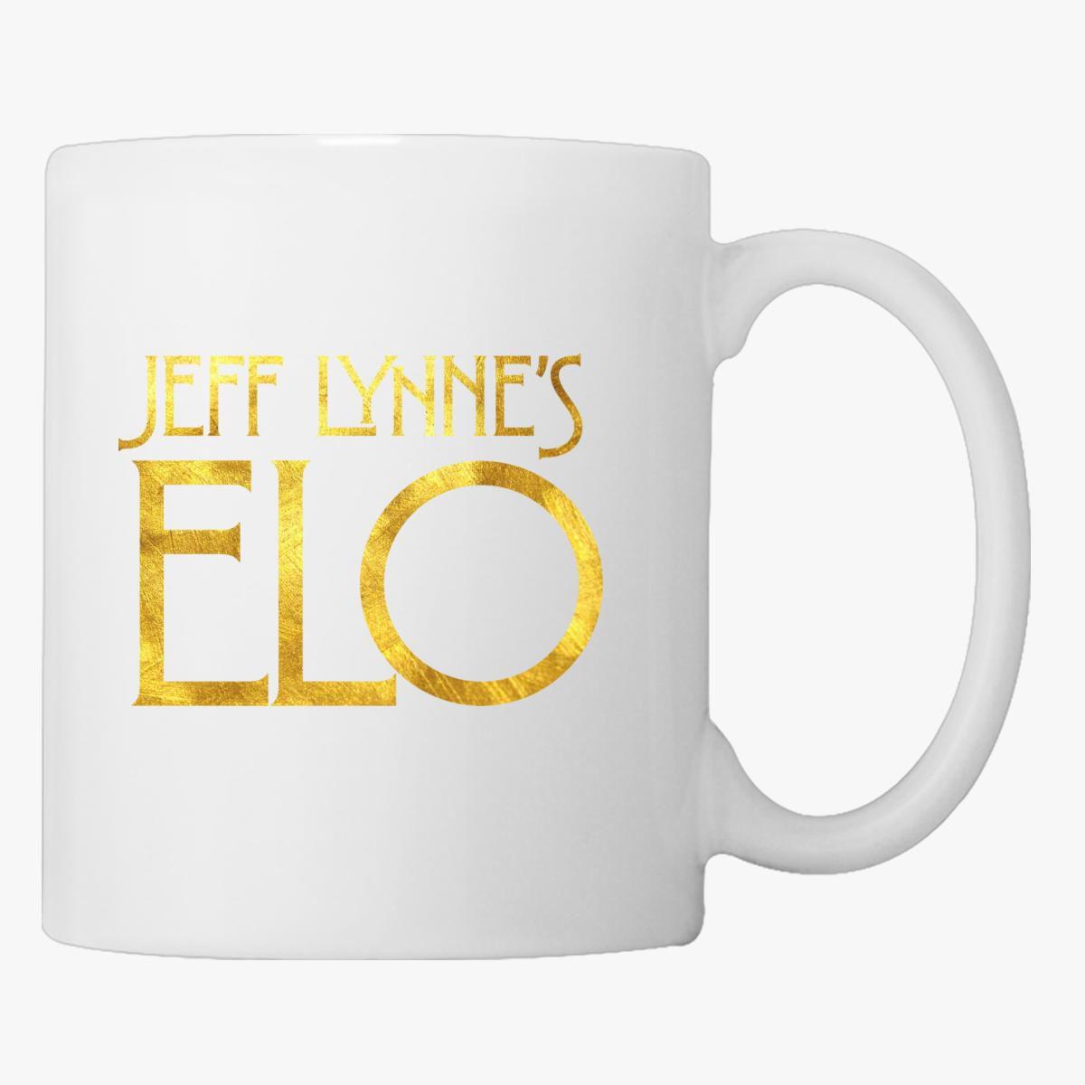 Jeff Lynne's ELO Coffee Mug - Customon