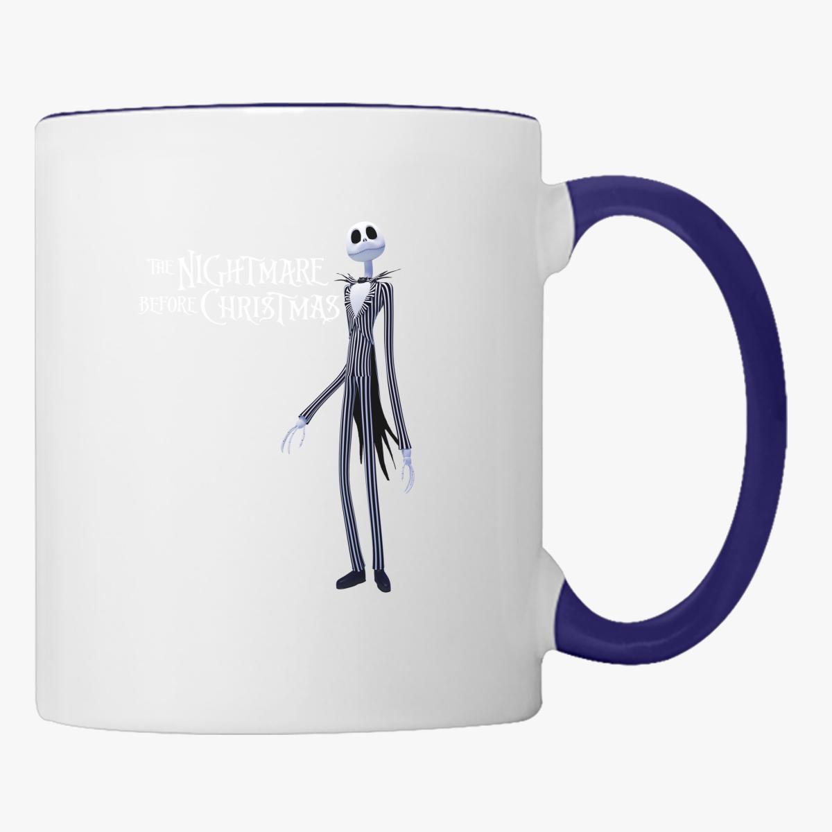 Nightmare Before Christmas Coffee Mug.The Nightmare Before Christmas Coffee Mug Customon