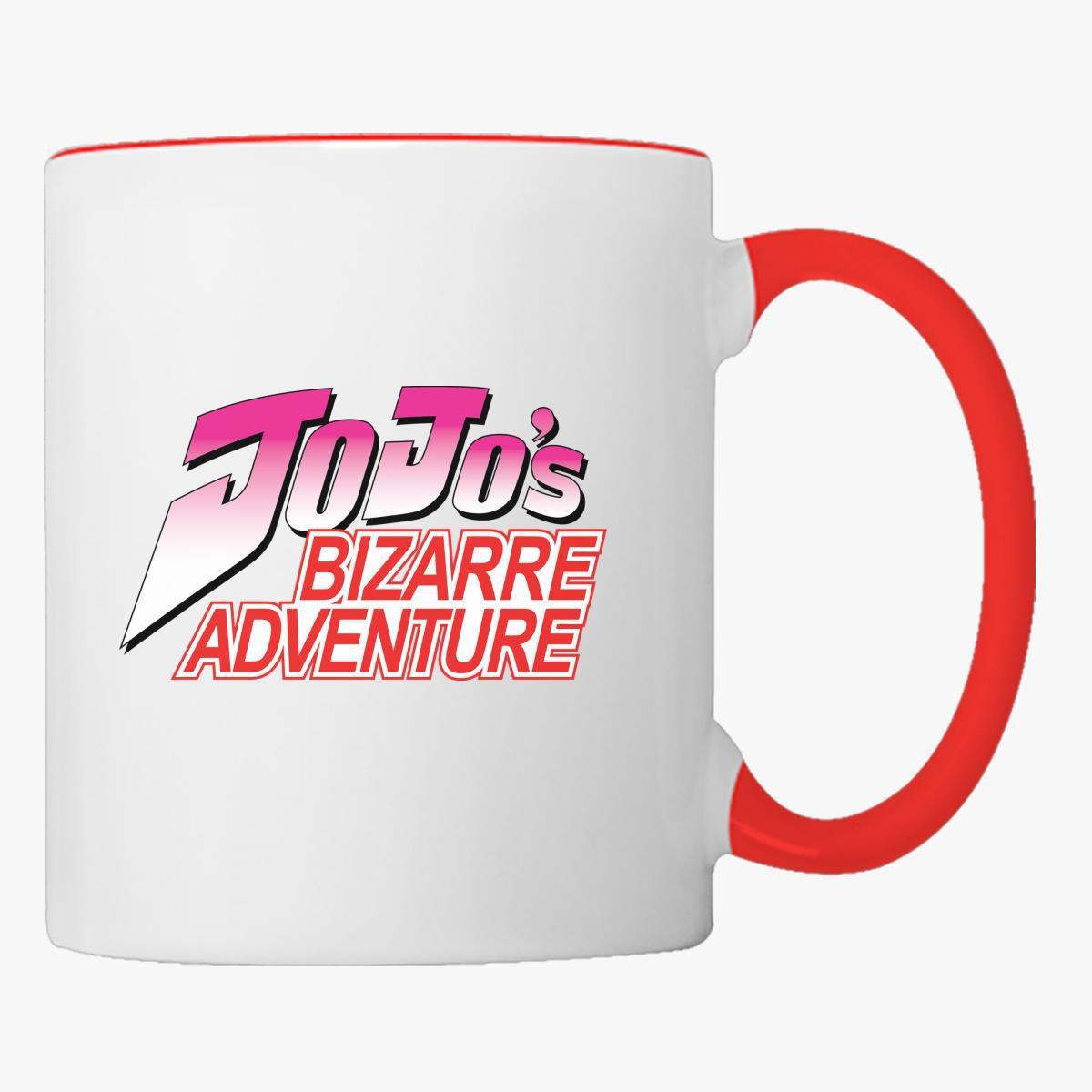 Jojo's Bizarre Adventure Logo Coffee Mug - Customon