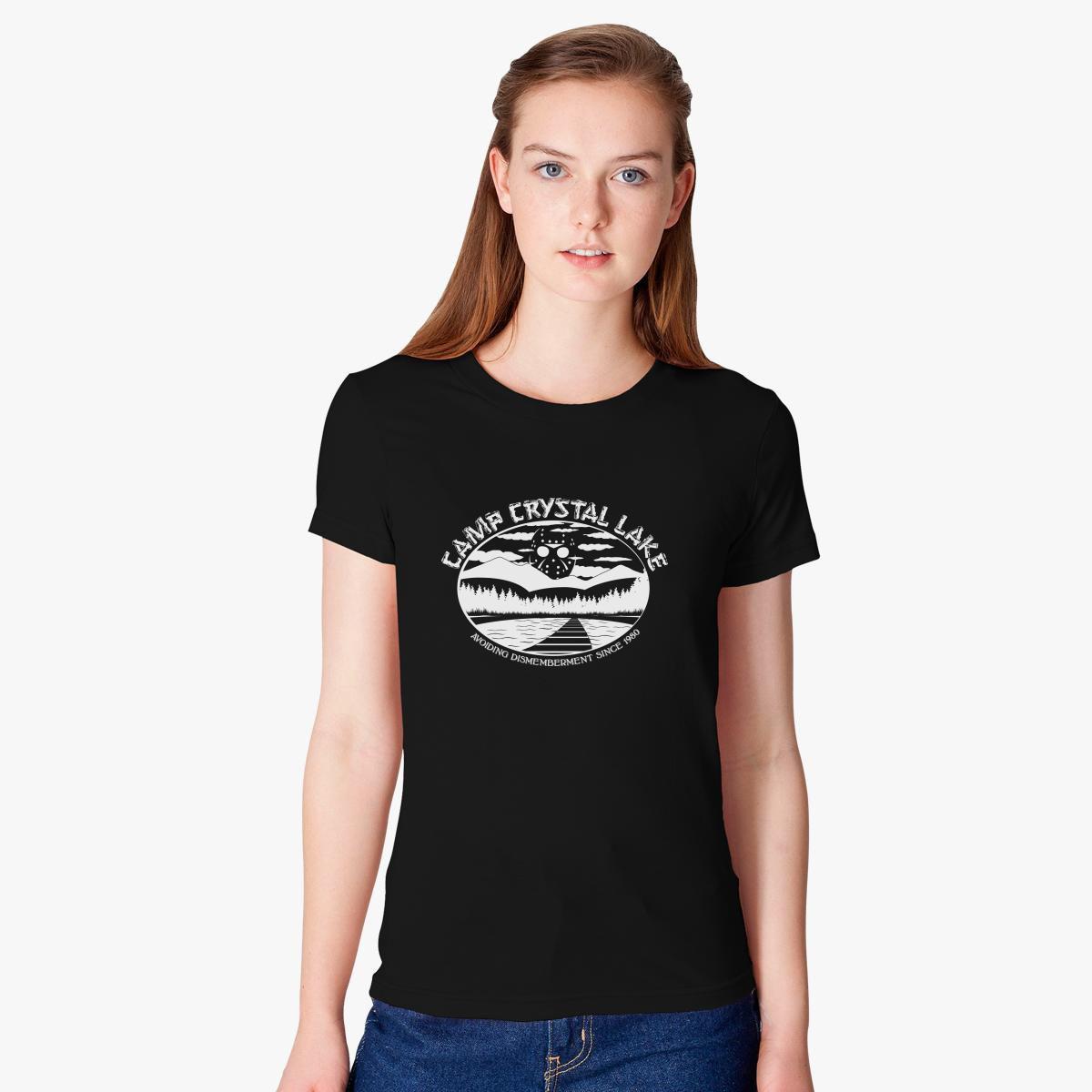 d7eef205c Camp Crystal Lake Friday 13th Women's T-shirt - Customon