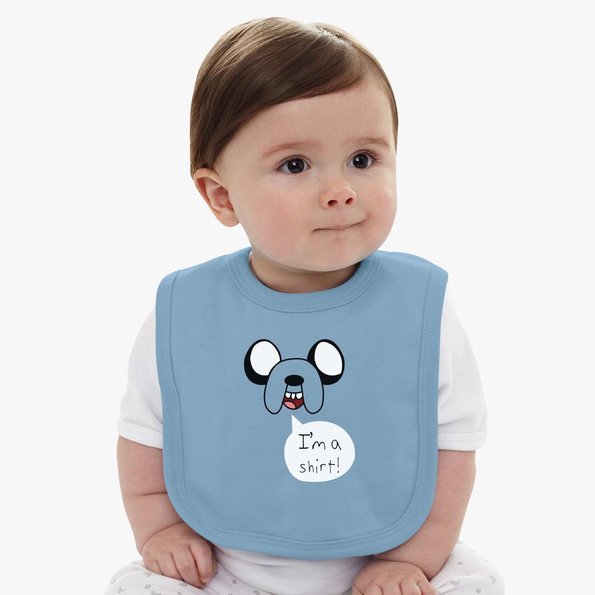 JAKE THE ADVENTURE TIME Baby Bib - Customon