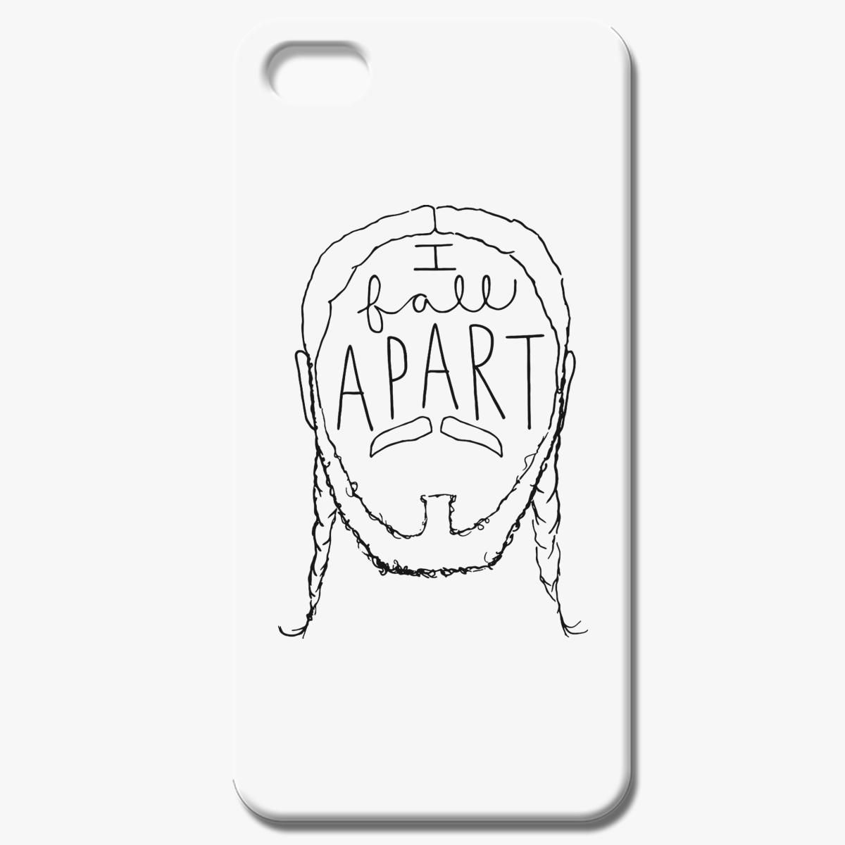 Post Malone I Fall Apart Guitar: Post Malone I Fall Apart IPhone 8 Case