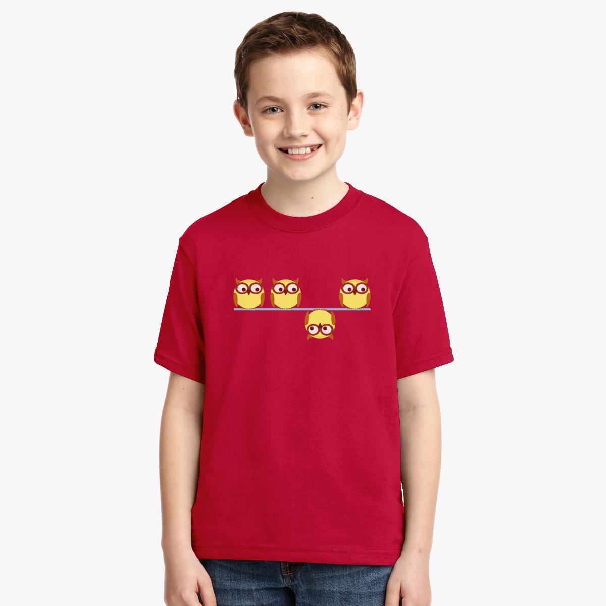 Sweet Owls Youth T-shirt - Customon