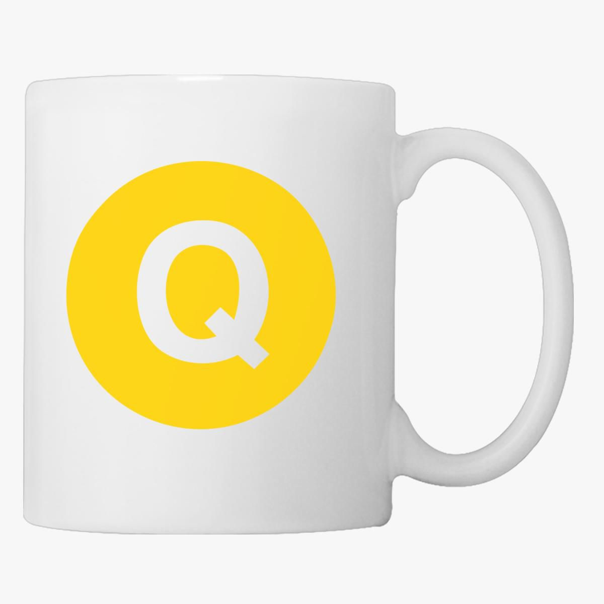 Omega Psi Phi Q Train Logo Coffee Mug Customon