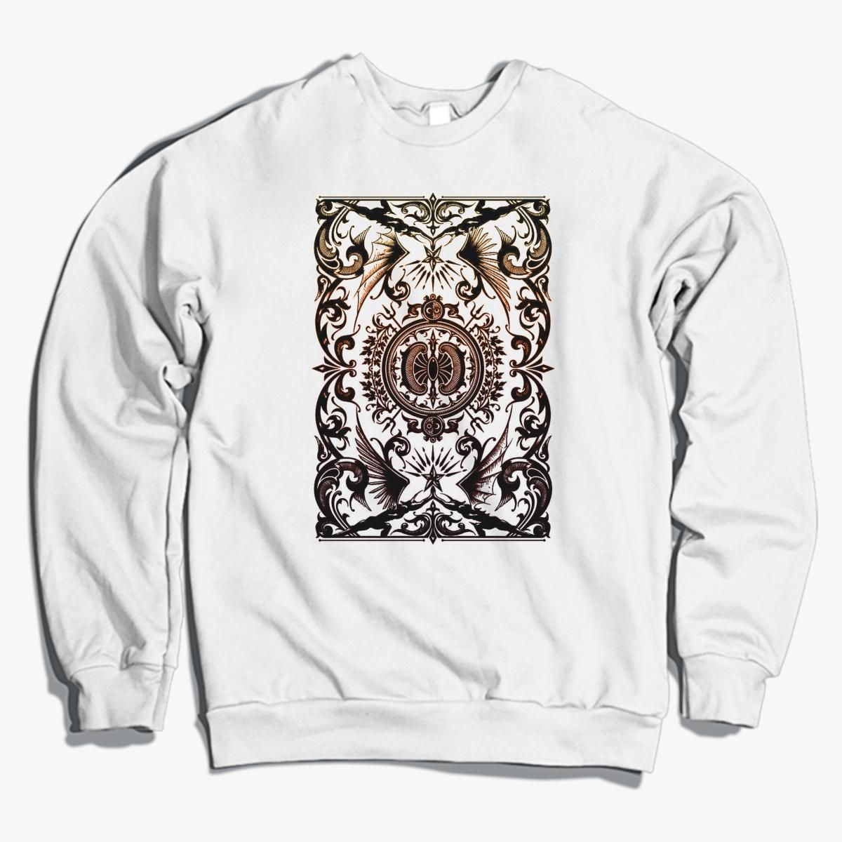 Abstact Batik Crewneck Sweatshirt