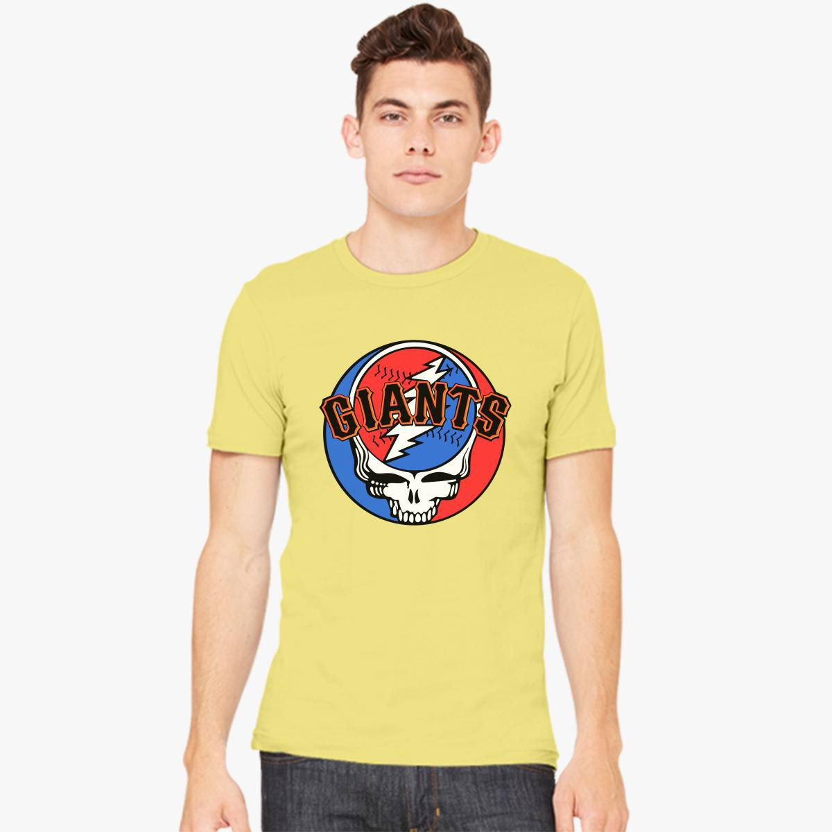 Grateful Dead Trucker Hat: Grateful Dead SF Giants Men's T-shirt