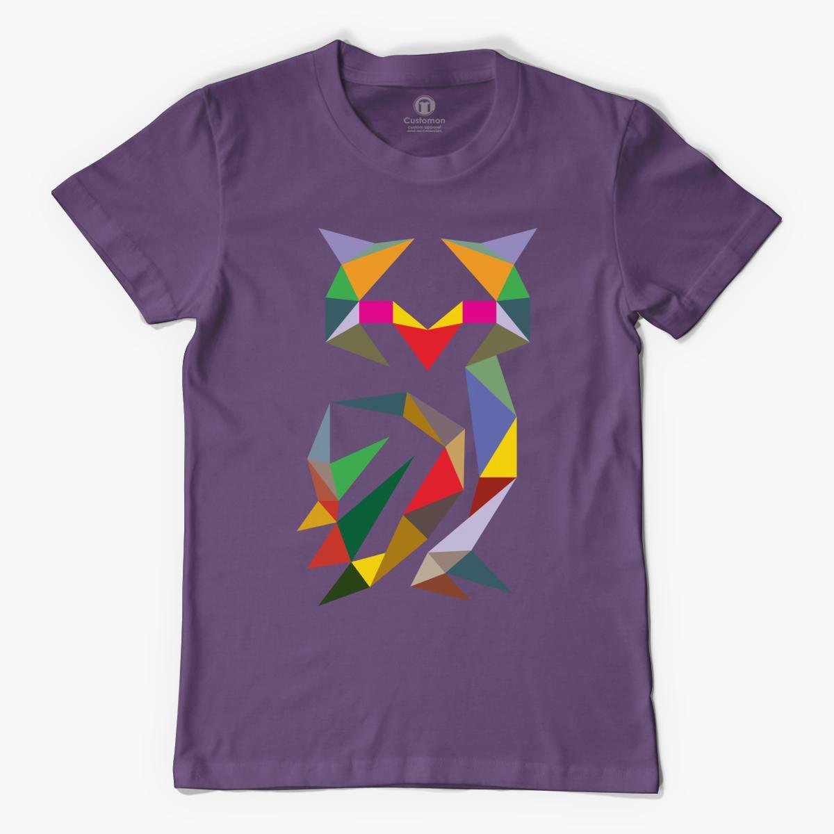 Geometric Owl Men's T-shirt - Customon