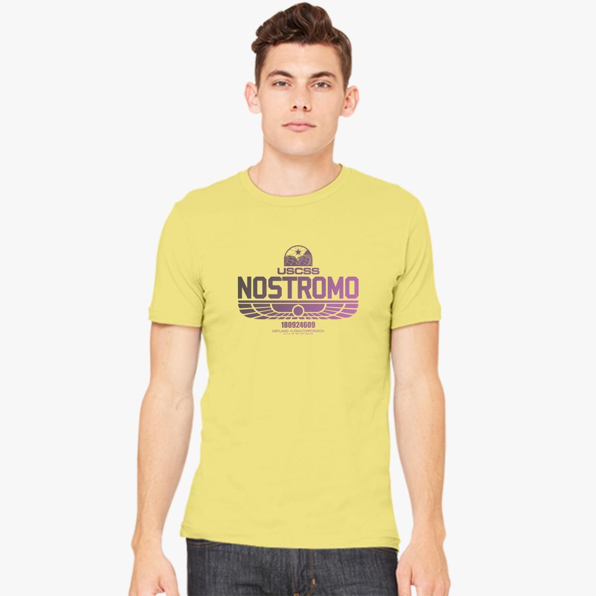 Alien Nostromo Men's T-shirt - Customon  Alien Nostromo ...