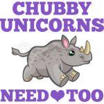 Chubby Unicorns Need Love Too Save Rhinos