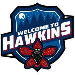 Welcome to Hawkins Stranger Things Sport Logo