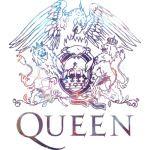 queen logo galaxy