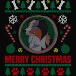 Australian Shepherd Dog Breed Ugly Christmas Sweater Shirt