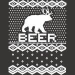 Bear   Deer = BEER Ugly Christmas